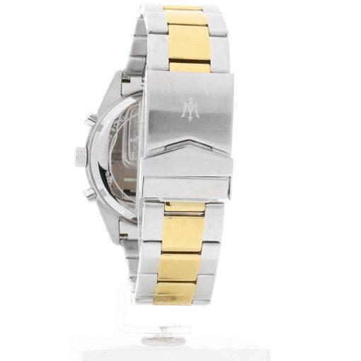 orologio maserati competizione con accaio e oro,multifunzione da uomo,orologio da uomo maserati
