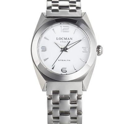 nuovo locman lady stealth bianco in vetro antigraffio,locman orologio lady stealth bianco