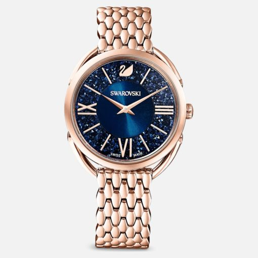 offerta orologio swarovski dacuatto,swarovski orologio donna crystalline glam zzurro oro rosa