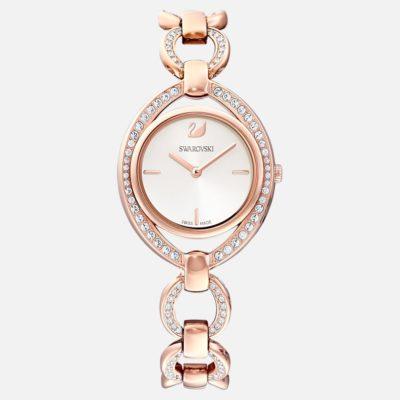 orologio swarovski stella in acciaio oro rosa offerta da cuatto,swarovski orologio donna in accaio oro rosa provincia di torino offerta