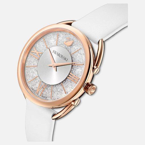 swarovski orologio crystalline glam donna bianco,orologio donna swarovski offerta da cuatto