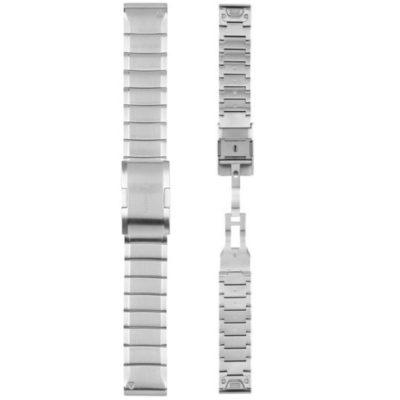 cinturino quickfit 22 mm in acciaio,gramin cinturini originali 22 mm fenix 6,cinturini garmin gioielleria cuatto