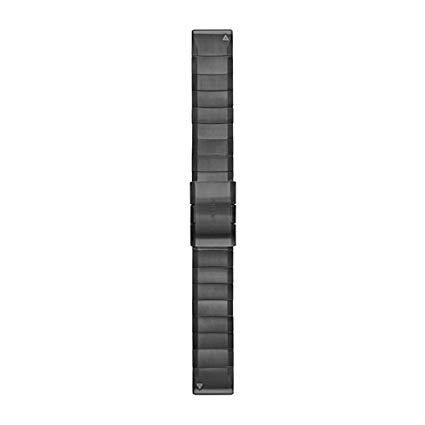 cinturino garmin quickfit 22 mm titanio dlc carbon gray,cinturini originali garmin 22mm,cinturini garmin originali offerta da cuatto