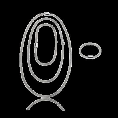 collan abreil donna new snake soft acciaio, offerta nuova collana breil snake soft acciaio