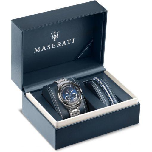 orologio e bracciale maserati, offerta orologio e bracciale maserati uomo da cuatto,ottimo regalo doppio orologio maserati uomo più bracciale maserati uomo
