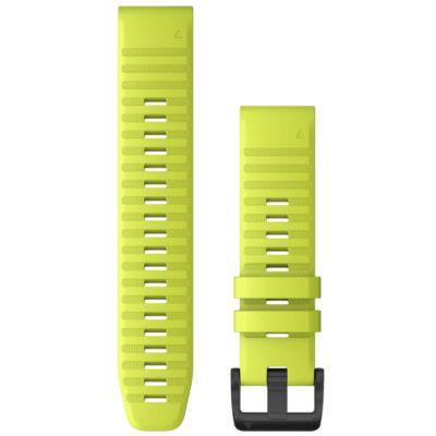 cinturino garmin giallo lime 22mm quickfit