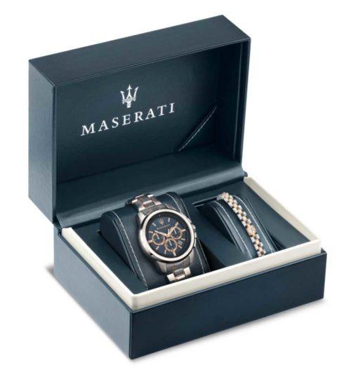 orologioe bracciale masearti doppio regalo maserati offerta in provincia di torino, orologio uomo maserati+bracciale maserati uomo doppio regalo provincia di torino