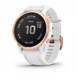 Garmin Fenix 6s Pro gold rose bianco in offerta