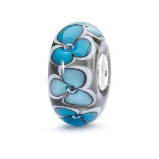 Trollbeads in vetro Beads Anima dei Fiori TGLBE-10401 bracciale idea regalo donna
