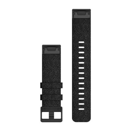 Garmin cinturino orologio nylon nero