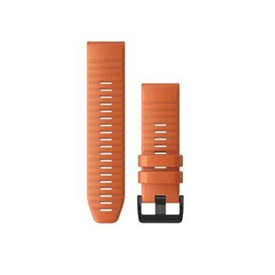 Cinturino garmin silicone arancione