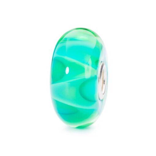 Trollbeads in vetro Beads Danza di Primavera TGLBE-10195 idea regalo donna