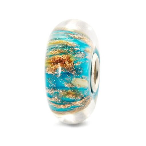 Trollbeads in vetro Beads Palazzo Reale TGLBE-10176 idea regalo donna