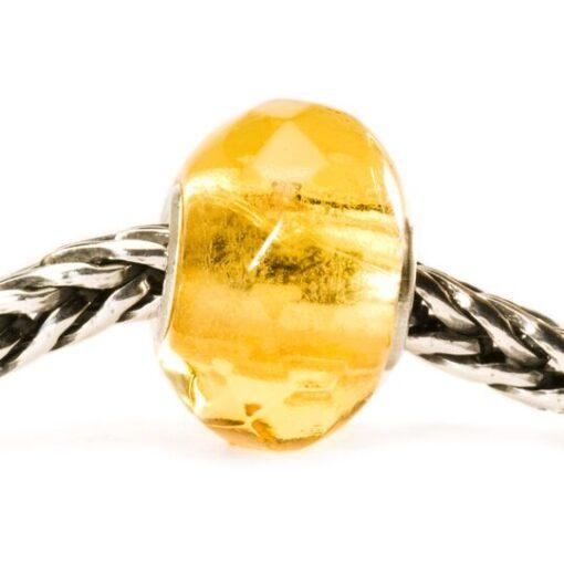 Trollbeads Beads in vetro idea regalo donna 2020 Prisma Giallo TGLBE-00152 €25