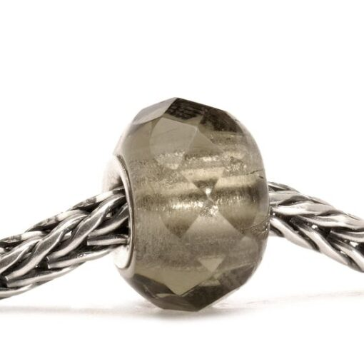 Beads in vetro Trollbeads TGLBE-00150 donna grigio