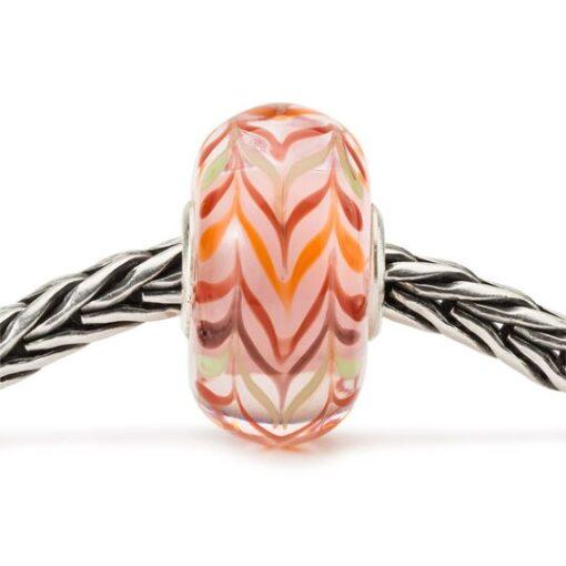 Beads in vetro Trollbeads novità 2020 TGLBE-20106 Romanticismo