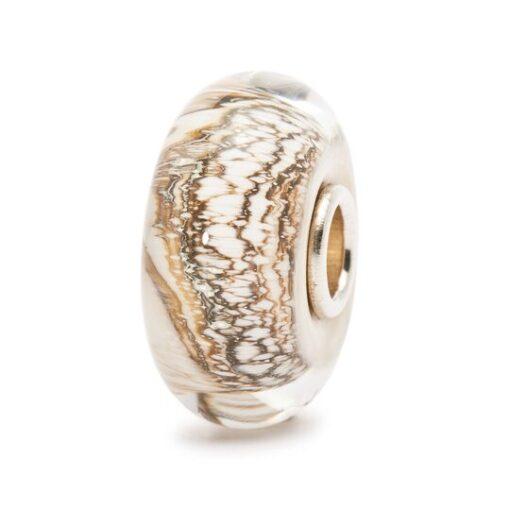 Trollbeads in vetro Beads Soffice Lana TGLBE-10142 idea regalo donna
