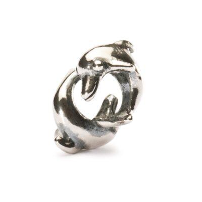 Beads Trollbeads TAGBE-00233 Delfini Giocosi