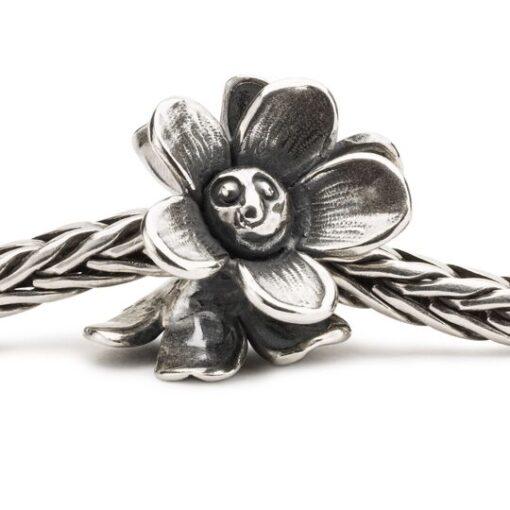 Beads Trollbeads in argento Fiori Sorridenti TAGBE-20215 collezione 2020