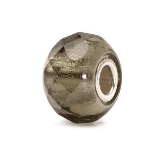 Trollbeads beads in vetro Prisma Grigio idea regalo donna grigio accessori donna TGLBE-00150