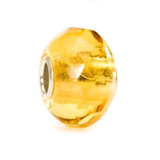 Offerta Trollbeads Beads in vetro idea regalo donna 2020 Tollbeads Prisma Giallo TGLBE-00152