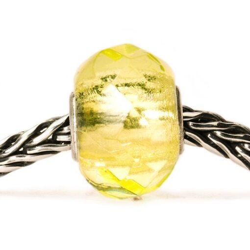 Trollbeads Beads in vetro idea regalo donna 2020 Prisma Giallo Chiaro TGLBE-00154 €25
