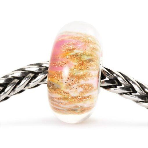 Beads Trollbeads in vetro idea regalo donna Rosa del Deserto TGLBE-10177