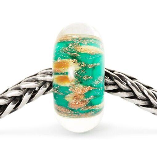 Beads Trollbeads in vetro idea regalo donna Miraggio TGLBE-10178