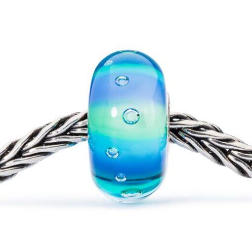 Beads Trollbeads in vetro idea regalo donna Bolle degli Abissi TGLBE-10194