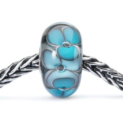 Beads Trollbeads in vetro idea regalo donna Anima dei Fiori TGLBE-10401