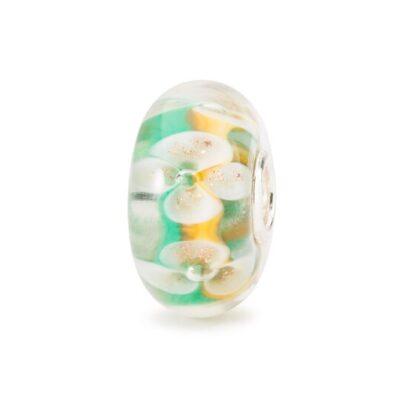 Beads Trollbeads in vetro Idea regalo 2020 donna Bouquet Portafortuna TGLBE-20103