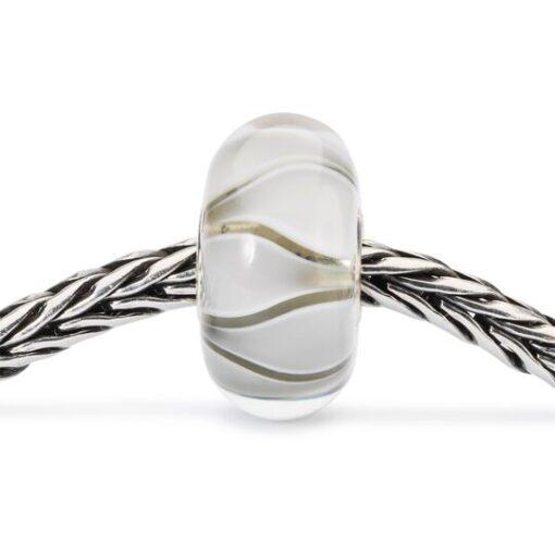 Beads Trollbeads in vetro idea regalo donna Tulipani Bianchi TGLBE-10440