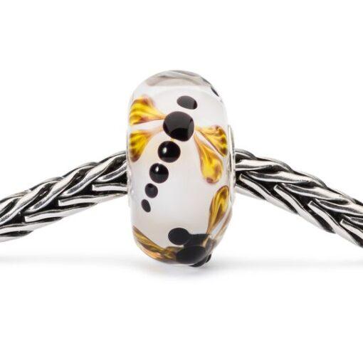 beads-trollbeads-in-vetro-volo-di-libellula tglbe-10438 offerta