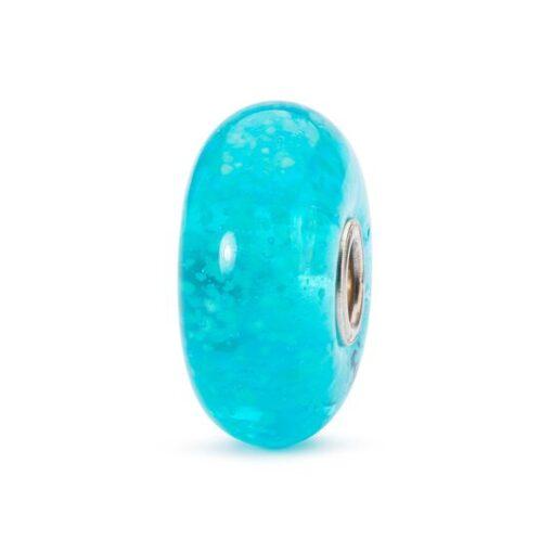 TGLBE-30029 Beads Trollbeads Luminoso Cuore dell'Oceano in vetro