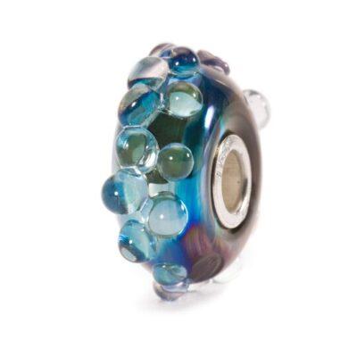 TGLBE-20057 Beads Trollbeads Oceano di Luna in vetro