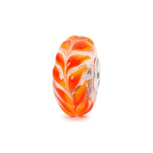 TGLBE-10450 Beads Trollbeads in vetro Foliage Dorato Idea regalo