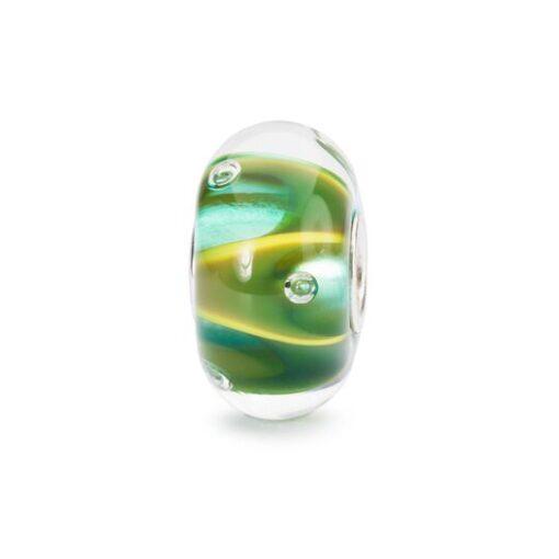 TGLBE-10446 Beads Trollbeads in vetro Gocce di Luce