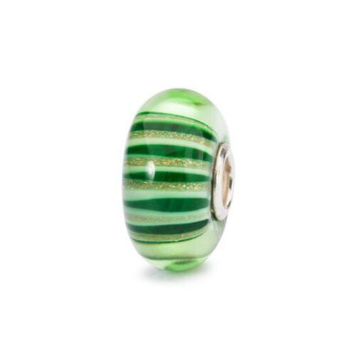 Trollbeads in vetro Beads Citta di Smeraldo TGLBE-10424 bracciale idea regalo donna