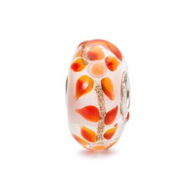 Trollbeads in vetro Beads Fiore dei Sogni TGLBE-10459 bracciale idea regalo donna
