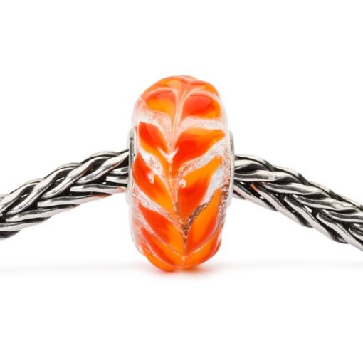TGLBE-10450 Beads in vetro Foliage Dorato