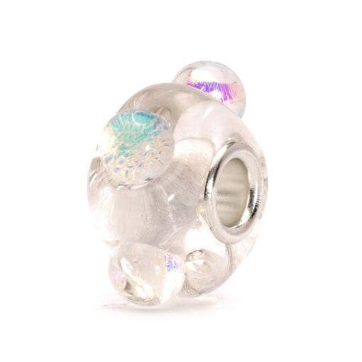TGLBE-20049 Beads Trollbeads Ghiaccio Diacronico in vetro - Idea raglo