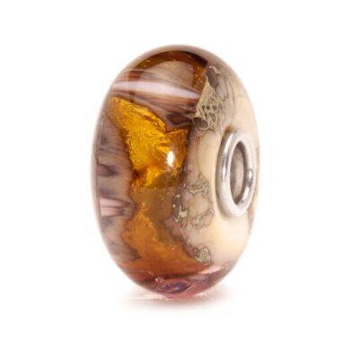 TGLBE-20041 Beads Trollbeads Grotta Oro in vetro
