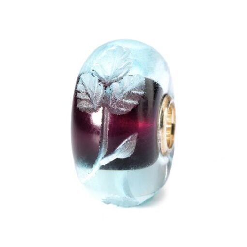 Offerta Beads Trollbeads TGLBE-20006 Intarsio Azzurro in vetro