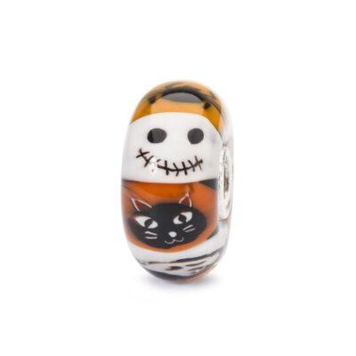 TGLBE-30043 Beads Trollbeads speciale Halloween Notte Stregata in vetro