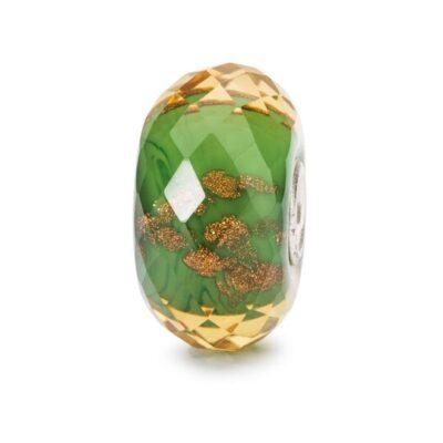 TGLBE-30040 Beads Trollbeads Scintilla della Fortuna in vetro
