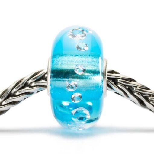 Beads TGLBE-00040 Beads Diamante di Ghiaccio in vetro con zirconi