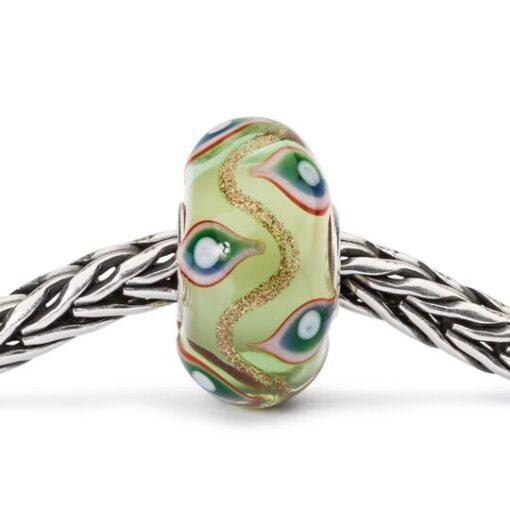 Beads Trollbeads in vetro idea regalo donna Illusione TGLBE-10426