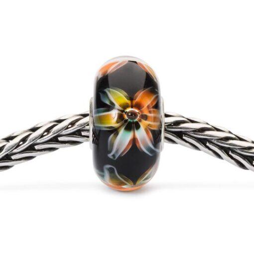 eads Trollbeads Fiore dell'Equilibrio in vetro TGLBE-10451