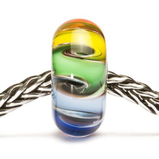 Beads Trollbeads Chakra Arcobaleno in vetro TGLBE-20003