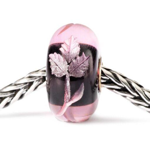 Offerta Beads Trollbeads TGLBE-20005 Intarsio Rosa in vetro